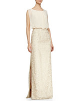Wholesale Reference Bar - 2016 the spring and autumn period and the new round neckline body outer chiffon pocket bar under the skirt lace on both sides of the seam sp