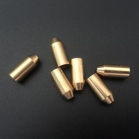 Wholesale Brass Lighters - Wholesale-Brass Copper Gas Adapter for S.T Memorial Dupont Lighter Reusable