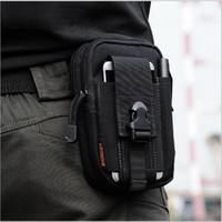 Wholesale Wholesale Mobile Phone Purse Case - D30 Tactical Molle Waist Bags Men's Outdoor Sport Casual Waist Pack Purse Mobile Phone Case for SAMSUNG Note 2 3 4 1000D