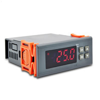 Wholesale Heating Regulator - RINGDER RC-114M 230V 30A -30~300°C Cool Heat ONOFF Switch Universal Digital Temperature Controller Regulator Thermostat for Heating NTC