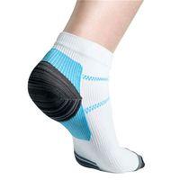 Wholesale nylon compression socks for sale - Group buy Foot Compression Socks For Plantar Fasciitis Heel Spurs Pain Sport Running Sock For Men And Women
