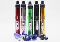 mezcla de encendedores al por mayor-Click N Burn Lighter Pen Vaporizador de hierbas Smoking Bongs Pipe Touch Flame Lighter con luz de antorcha a prueba de viento incorporada Click N Vape DHL