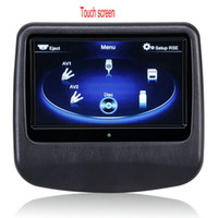 Wholesale 9 Capacitive Touch Screen Headrest Monitor Car DVD Pillow Headrest Monitor support AV function