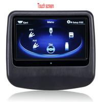 Wholesale Touch Screen Headrest Monitors - 9'' Capacitive Touch Screen Headrest Monitor Car DVD Pillow Headrest Monitor support AV function