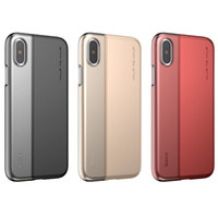Wholesale Hybird Hard Back Cover - for Iphone X Case Baseus Hybird Hard PC Soft TPU Shockproof Back Cover Phone Cases for iphone x