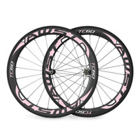 Wholesale Cheap Carbon Bike Wheels - Made in taiwan 60mm alloy 700C alloy brake carbon wheels road bicycle carbon wheel aluminium clincher road wheelset cheap bicycle wheels