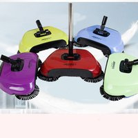Wholesale Floor Sweepers - Magic Broom Sweeping Machine Without Electricity Push Type Household Sweeper Dustpan Set Floor Home Cleaning 3 in1 Dustpan Broom Mop