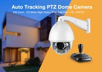 Wholesale Ptz Dome Keyboard Controller - Auto Tracking 30x High Speed IP66 SONY CMOS 1200TVL Dome PTZ Camera + 3D Joystick Keyboard Controller