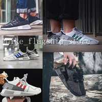 Wholesale Fabric Equipment - Wholesale Fashion EQT Cushion ADV Europe Exclusive 91-17 Mens Running shoes Black white Women Equipment Outdoor Athletic sneaker EUR 36-44