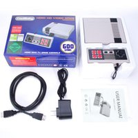 HD HDMI Out Retro Classic Game TV Video Console portatile Sistema di intrattenimento Built-in 600 giochi classici per NES Mini Game PALNTSC