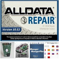 Wholesale Chrysler Dodge Parts - HOT!!! alldata and mitchell software 2017 alldata 10.53+Mitchell 2015 + auto parts catalogue etc 45 in1 with 1TB New Hard Disk