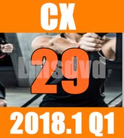 Top-sale 2018.1 Gennaio Q1 New Routine CX 29 Aerobica Fitness Video Esercizi WORX CX29 WORX29 Video DVD + CD Musica
