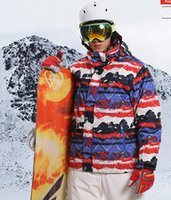 Wholesale Fast Wind Jacket - 2016 MARSNOW winter outdoor ski suits men's ski clothing thicker warm wind waterproof ski jacket in stock fast shipping