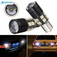 Wholesale Led 1156 12 - White 10W Car R5 12 SMD 1156 BA15S 1141 Car Tail Backup Reverse LED Light