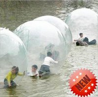 Wholesale Inflatable Water Walk - 2016 new 2m inflatable walking balls jumbo water ball inflatable water running ball water sport balls kids toy dancing ball