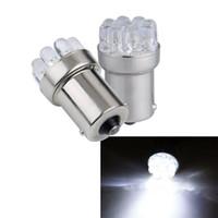 Wholesale G18 Light - Wholesale - 20pcs BA15S G18 P21W 1156 382 12V 0.3W White Light 9 LED Car Turn lamp   Signal   Tail   Brake Bulb CLT_022