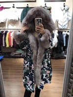 Wholesale Warm Ladies Hooded Parka Coat - M44 Jacket parkas for women winter jacket long warm Ladies jackets anorak women coats with real fox fur hood parka