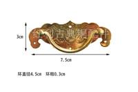 acessórios de cobre jóias venda por atacado-Encaixes de cobre do bônus de bronze antigo clássico / acessórios da mobília / acessórios / caixa de jóia, punho do bastão da mala de viagem
