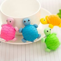 Wholesale eraser turtles for sale - Group buy New Cute Creative turtle Style Eraser Funny Eraser Office Study Rubber Eraser