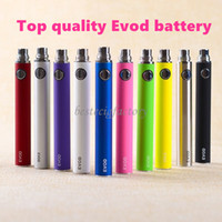 Wholesale Vivi Nova Adjustable Battery - Evod Battery Ecig Batteries 650 900 1100 mAh For Ego,ego-t,510-t,vivi nova EVOD BCC and MT3 Atomizer Free Shipping