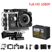 Wholesale electronic copying resale online - Cheaper Copy SJ4000 P Full HD HDMI Mini Action Camera with inch LCD Screen Meters Waterproof DV Helmet Gift Sport Cameras