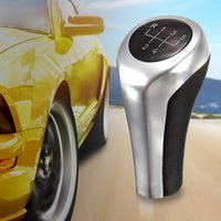 Wholesale Bmw E46 Gear Knob - Fishion Car Styling Head Gear Shift Knob For Manual BMW Car Accessories For BMW E30 E32 E36 E46 E39 E34 Z3