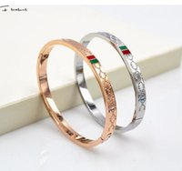 Wholesale Korean Selling Model - The new high-quality selling wholesale special offer exquisite fashion new Korean G titanium rose gold bracelet female models