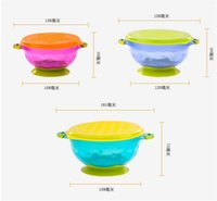 Wholesale Baby Food Containers - Stay Put Suction Bowl Feeding Children Bowl with Suction Bowl Baby Food Container Slip-resistant Children's Tableware
