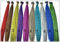 horoz tüyleri saç uzatması toptan satış-2000 adet 16