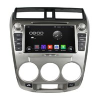 Auto-DVD-PC Audio Radio Android 5.1.1 Multimedia-Spieler GPS-AUX IN DVR für Honda City 1.5L 2008 ~ 2012