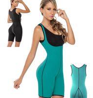 Wholesale Postpartum Shaper - Compression Shapewear Weight Loss Control Postpartum Pants Women Neoprene Waist Trainer Body Shaper Cincher Sliming Bodysuit B4268