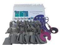 dez portátil venda por atacado-Alta Qualidade Portátil EMS Infrared Micro Eletroterapia Elétrica Atual EMS Estimulador Muscular Tens EMS Perda De Peso Da Máquina De Fitness