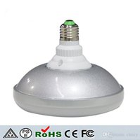 Wholesale fly commercial - Epistar LED bulb E27 18W LED flying saucer shape lamp bulb no waterproof AC85-265V LED umbrella light SMD 5730 for commercial decor