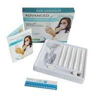 Wholesale Mini Teeth Whitening Lights - Advanced Teeth Whitening Kit for home use , tooth whitening gel brush pen kit with 16led mini new style light