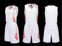 Wholesale uniform apparel - Custom-made basketball apparel, blank light board basketball team uniform printed word, basketball training uniform.
