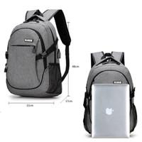 Wholesale Waterproof Canvas Rucksack - New Oxford Men Women Backpack USB Charge Computer Bag For Teenager Waterproof 18.7 inch Laptop Travel Backpack School Rucksack