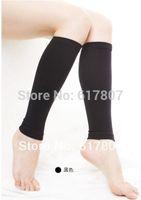 Wholesale Thin Legged Women - Wholesale-Hot Sale New Thin Leg Calves Shaper Compression Stovepipe Socks Leg Warmers 1pair(2pcs)