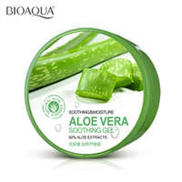 Moisturising organic skin creams - NEW PURE ORGANIC ALOE VERA GEL Cream Hyaluronic acid mask Soothing Moisture Remove Acne Hydrating Whitening Oil control skin care