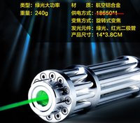 Wholesale Green Laser Combustion - HIGH Powerful Green Laser Pointer Zoomable 10000 Long Range Burning Pen Combustion Lgnition Cutting Irradiate Rechargeable