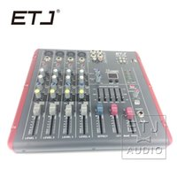 ETJ Marca 16 DSP 4 canali Ultra Low Noise Mixer Audio Bluetooth 48V Phantom Alimentazione AG06