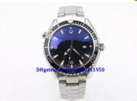 простые черные мужские часы оптовых-Высокое качество люксовый бренд мужские часы мастер коаксиальный океан простой черный циферблат сапфировое зеркало автоматическое оборудование 007 дайвинг наручные часы