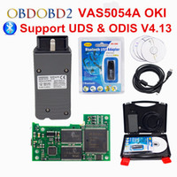 Wholesale Bentley Diagnostic - OKI Full Chip VAS 5054A ODIS V4.13 Bluetooth VAS 5054 A Car Diagnostic Tool For VW Seat Skoda For Bentley VAS5054A VAG Scanner