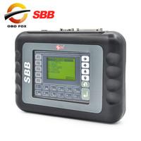 Wholesale Sbb Cable - SBB Slica key programmer V33.02 Support 9 languages Key maker SBB programador de chave Free shipping