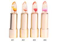 Wholesale kailijumei flower lipstick for sale - Group buy 2017 Brand Kailijumei Flower Magic Color Temperature Change Moisturizer Bright Surplus Lipstick Lips Care Colors