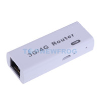 Venda por atacado - Mini Portable 150Mbps 3G / 4G Hotspot WIFI Mobile Wireless USB2.0 Router