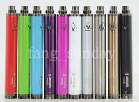 Chine Direct eCig Vape Batterie Vision 2 Spinner II Ego Evod Twist Réglable 3.3-4.8V Tension Variable 1650 mAh Batterie + USB Chargeur