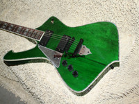 Wholesale Left Handed Green Guitars - Left Hand Guitar Iceman Custom Electric Guitar IN green guitars ree shipping