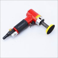 Wholesale Machine Spindles - free shipping 3 inch pneumatic sander air polisher straight centricity grinding machine air sanding tool long spindle straight model