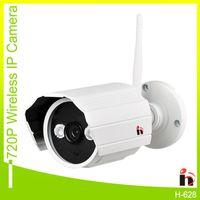 Wholesale H264 Surveillance - H H264 P2P WIFI 720P Waterproof IP camera Outdoor Surveillance Security Camera Built-in 8G Micro SD Card