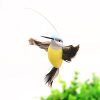 ingrosso farfalle da giardino-Nuovi colibrì solari, giocattoli da giardino farfalle, giocattoli educativi per bambini illuminanti con batteria